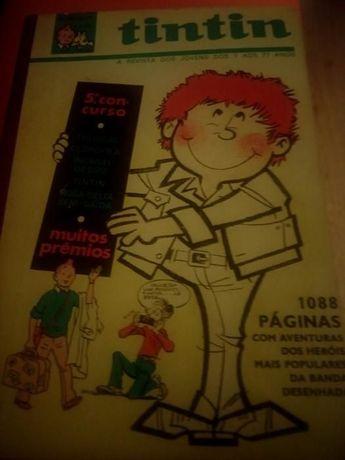 Banda desenhada Tintin