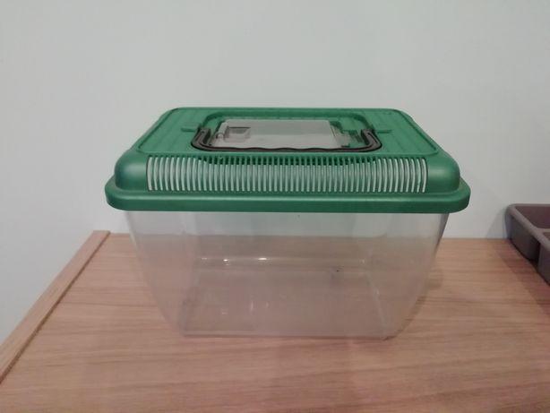 Transporter mały dla gryzoni patyczaków myszy chomików ślimaków