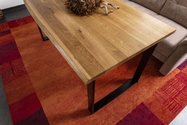 Stół dębowy lity producent loft 80x180 dostawa i montaż w cenie