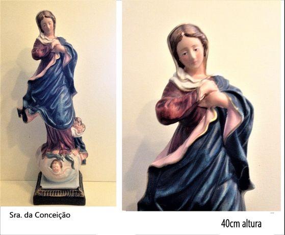 Estatuetas / Imagens Santos em loiça antigos