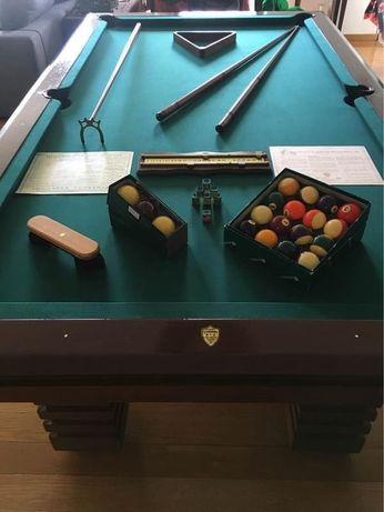 Mesa de snooker+ bilhar+ jantar