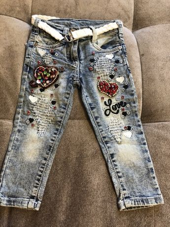 Шикарные джинсы 86 р