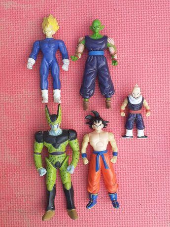 Lote de 5 figuras / bonecos DragonBall