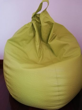 Puff em formato pêra verde