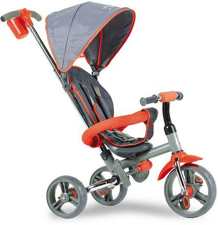 Детский велосипед трёхколёсный Y Strolly Compact красный