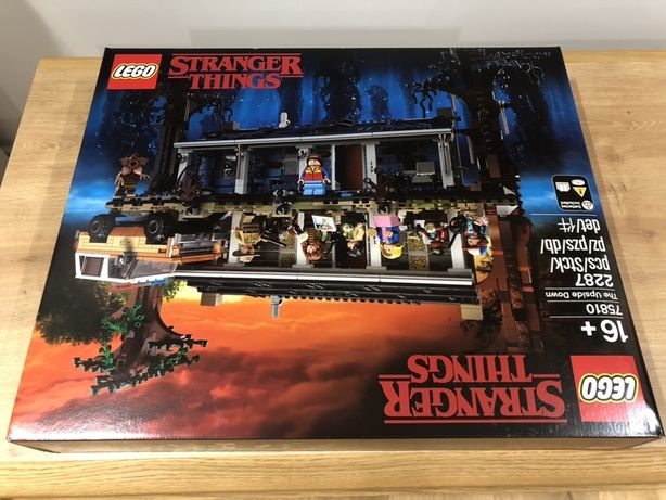 Lego Stranger Things Druga Strona 75810