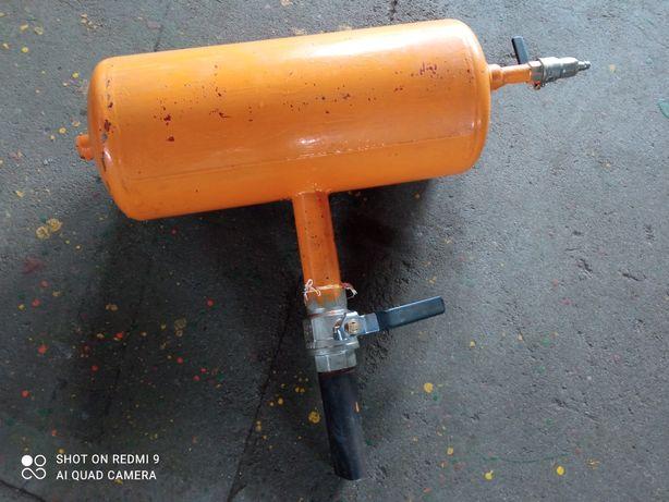 Inflator uderzeniowy zbiornik ciśnieniowy