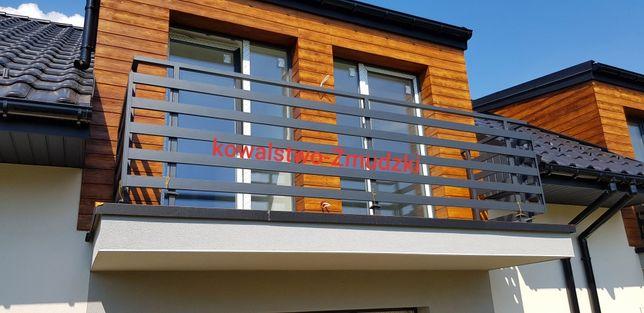 Barierka nowoczesna balustrada balkonowa bramy ogrodzenia panelowe pal