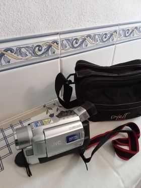 Câmara de Filmar JVC com mala original para colecionadores