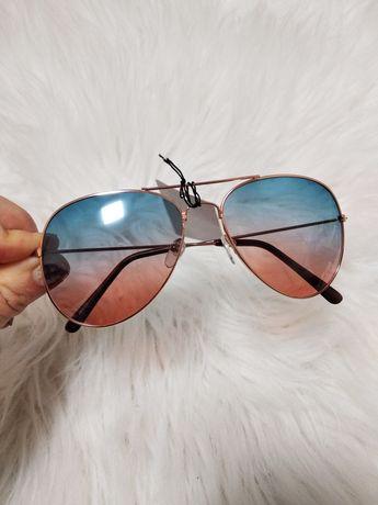 Солнцезащитные солнечные очки женские градиент капля авиатор