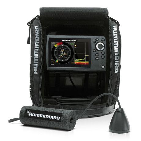 Эхолот с Сумкой Картплоттер Humminbird Ice Helix 5 GPS G2 Ехолот