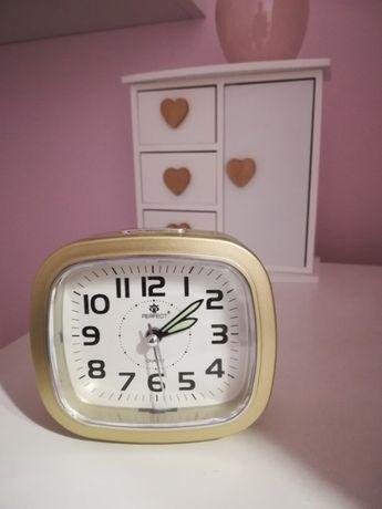 Zegarek budzik złoty