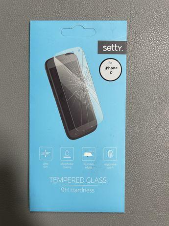 iPhone X szkło ochronne