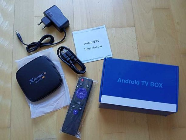 Android Smart TV Box X88Pro nowy 2/16G
