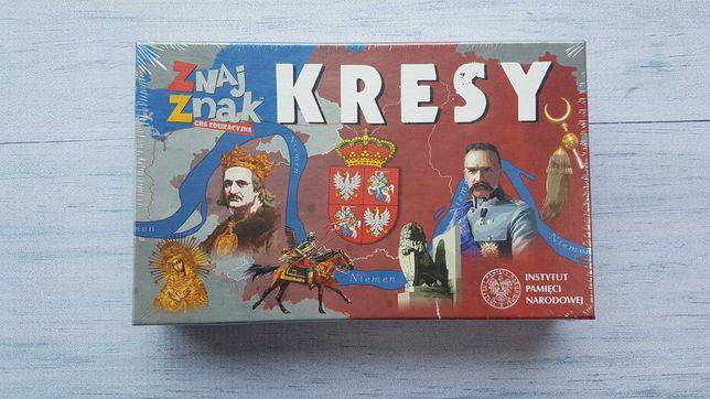 """Gra planszowa """"ZnajZnak – Kresy"""" Nowa / Folia"""