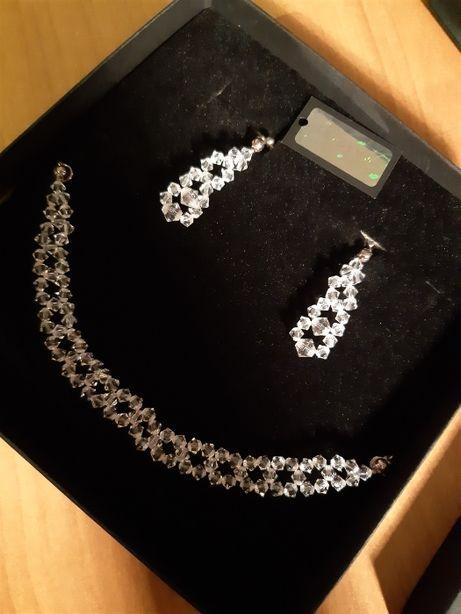 Biżuteria Ślubna Swarovski Elements