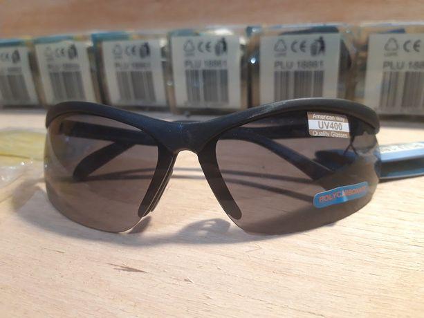 Okulary sportowe American Way UV400 10sztuk