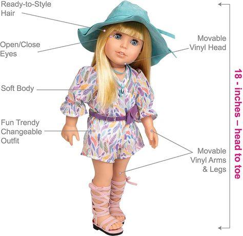 Adora Amazing Girls, Claire, Реалистичная кукла реборн Адора reborn