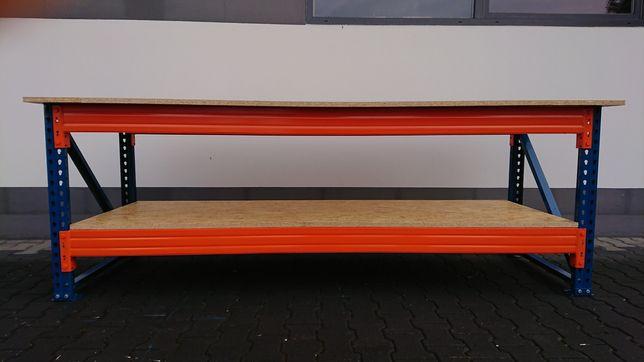 Stół Warsztatowy Roboczy 300 X 90 X 92 Blat Płyta OSB 22mm WYSYŁKA