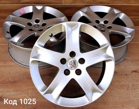 Оригінальні диски Peugeot R17 5x108 ET48
