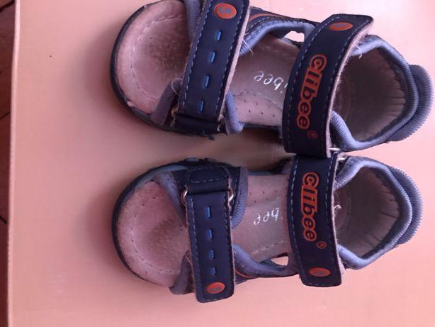 Босоніжки сандалі шкіряні 20р