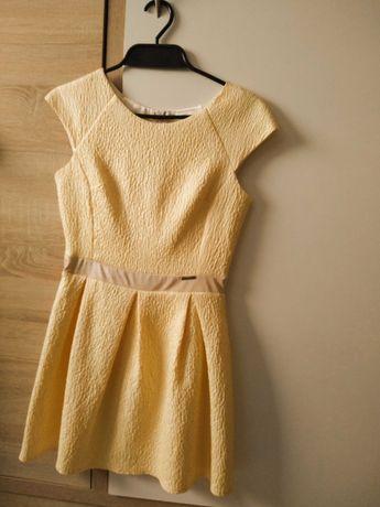 Żółta Sukienka XS