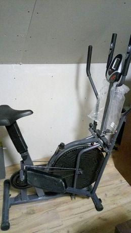 Orbitrek i rowerek, zestaw 2w1.