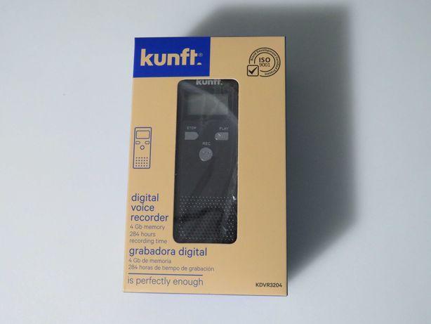 Gravador de Voz Digital 4 Gb com ecra LCD e Altifalante NOVO e SELADO