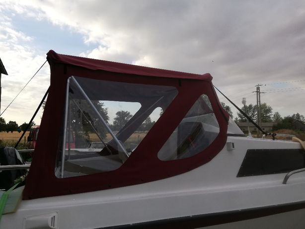 Naprawa wymiana okna szyby PCV łodz, jacht, motorówka, bimini