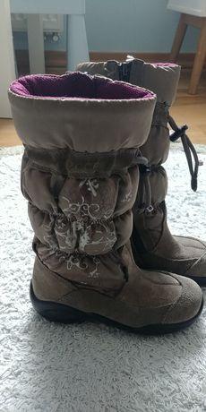 Kozaki buty zimowe Ecco r.28