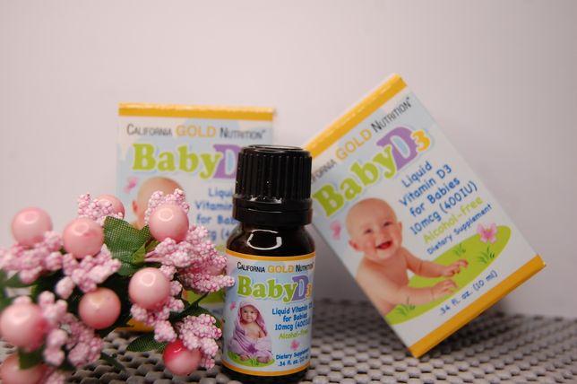 Витамин Д3 для малышей с Америки, Айхерб