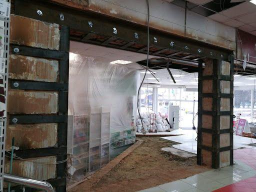 Проемы в несущих стенах, усиление аварийных конструкций,демонтаж.