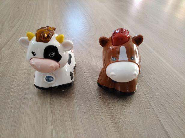 Zabawki grające Toot toot Animals koń i krowa wersja niemiecka