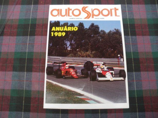 Autosport - Anuário desportivo automóvel 1989