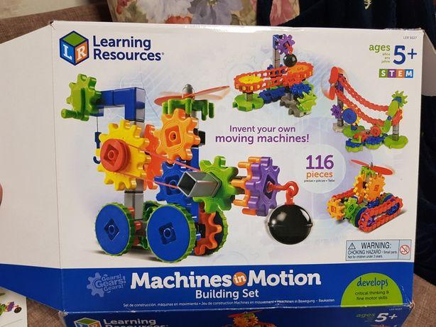 Конструктор с шестеренками от  Learning Resources