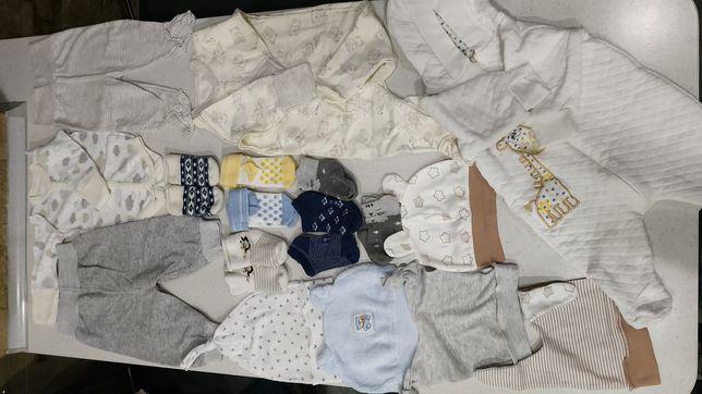 Пакет детских вещей для новорожденного