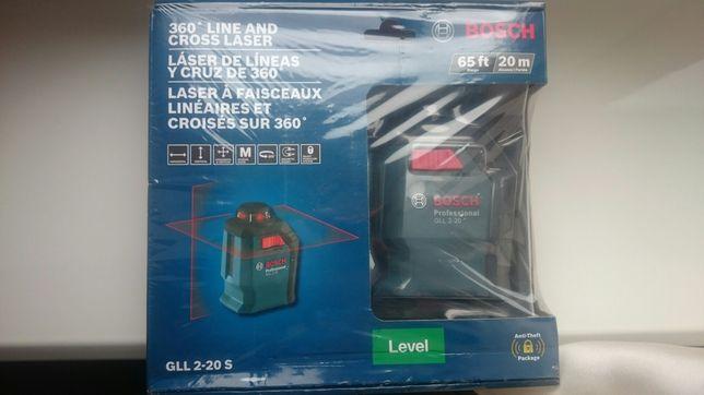 Уровень лазерный нивелир BOSCH GLL2-20S professional