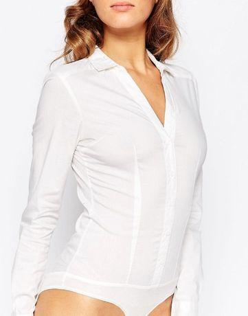 Стильная рубашка боди ONLY размер S