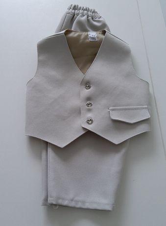 Komplet spodnie + kamizelka, 74