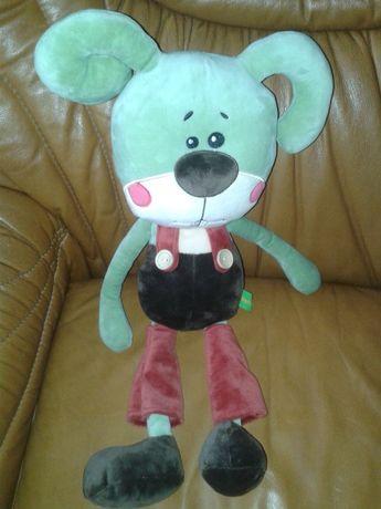 Продаётся мягкая игрушка Люк зайчик фабрика Левеня 50 см