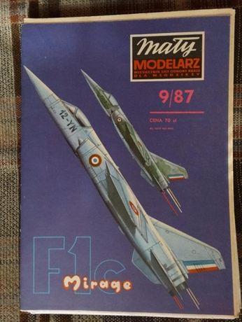 Samoloty - modele kartonowe