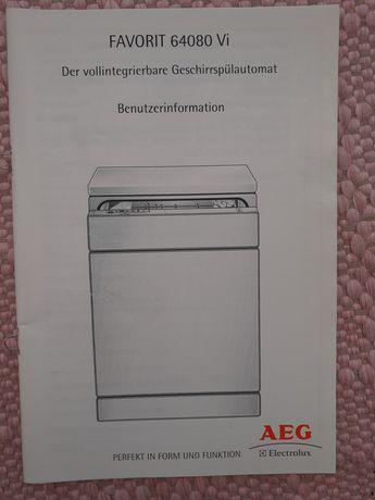 Maquina louça AEG- toda ou peças