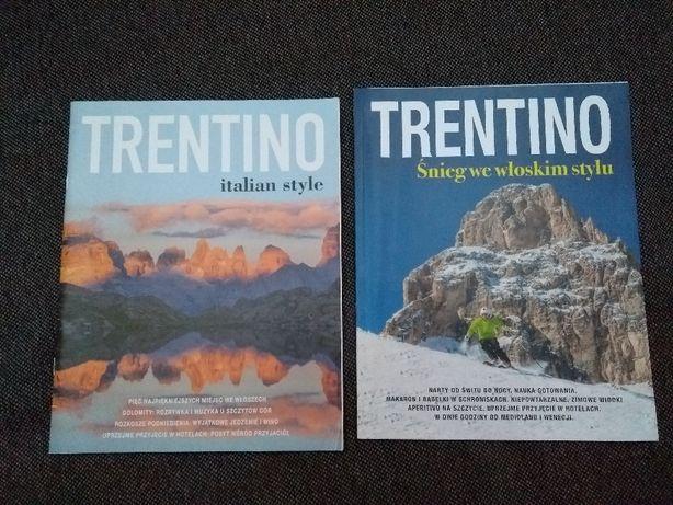 2 x Przewodnik Trentino -- WŁOCHY WYSYŁKA