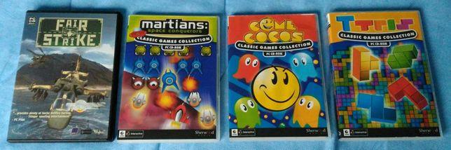 Pac Man - Tetris - Martians - Fair Strike