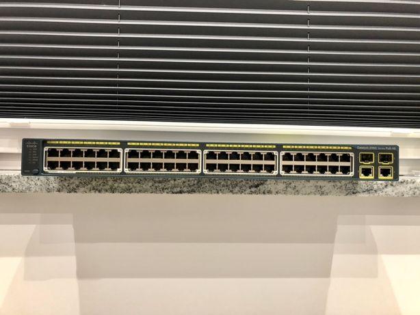 Cisco Catalyst 2960 48PST-L Switch poe