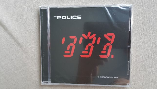 CD The Police - Ghost in the Machine. Folia.