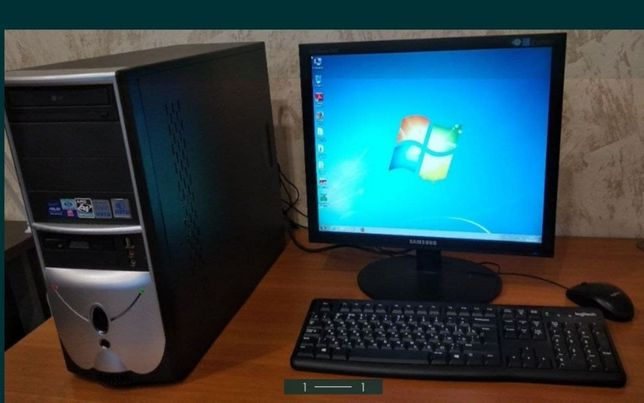 Компьютер 4 ядра\3 GHz\500gb hdd\озу 2gb\asus gts 250 512mb