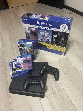 PS4 Play Station Slim 1TB black dualshok