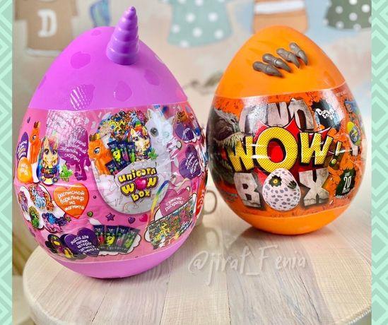 Яйцо-сюрприз Динозавр,Единорог Dino Wow box> Unikorn Wow box
