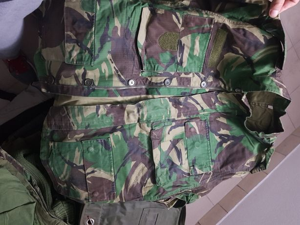 Dolmam Militar  (Camuflado) n⁰ 4 actual  e modelo antigo